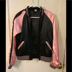 H&M Sparkle Horse Bomber Jacket